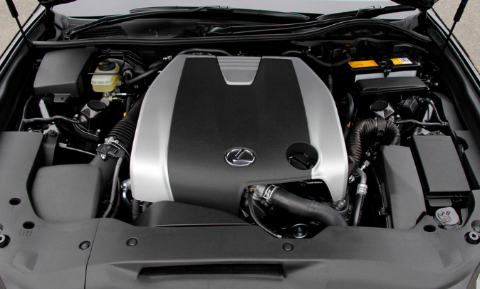 2021 Lexus GS Engine