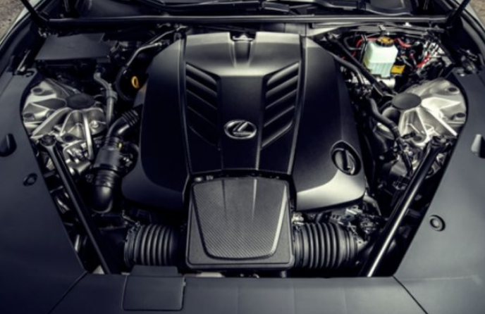 2021 Lexus IS Engine