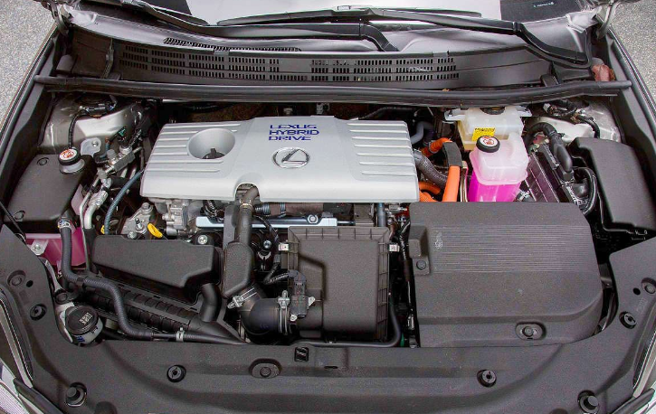2021 Lexus CT Engine