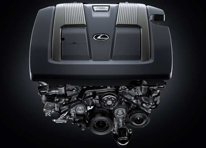 2021 Lexus IS 300 Engine