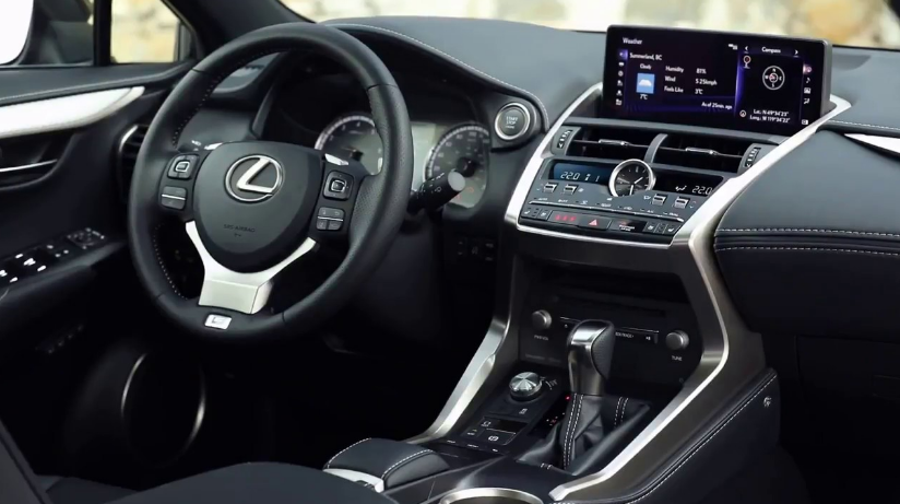 2021 Lexus IS 300 Interior