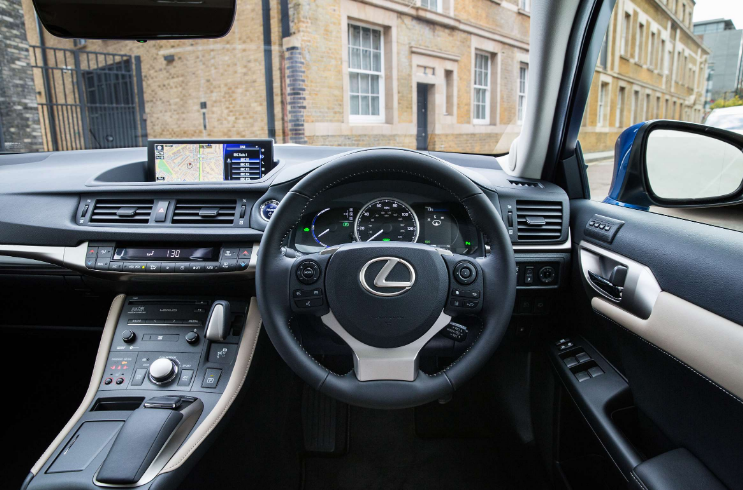 2021 Lexus CT 200h Interior