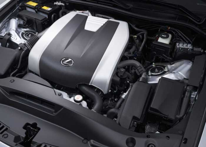 2021 Lexus GS F Engine