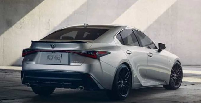 2021 Lexus IS 300 Exterior