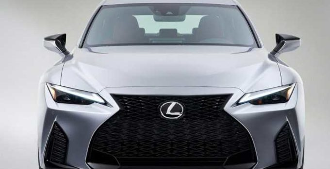 2021 Lexus IS F Exterior