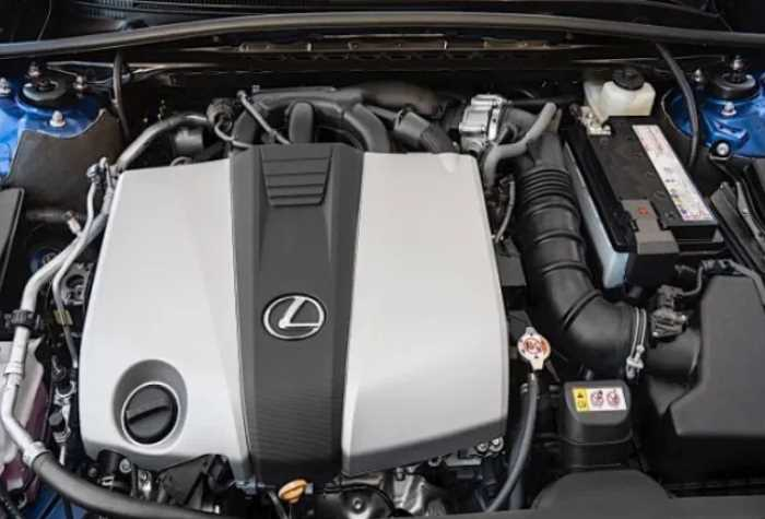 New 2021 Lexus ES 350 Engine