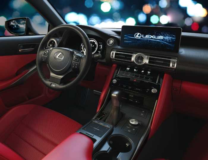 New 2021 Lexus IS 300 Interior