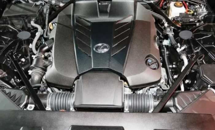 New 2021 Lexus LS Engine