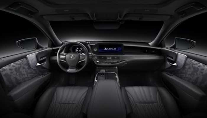 New 2021 Lexus LS Interior