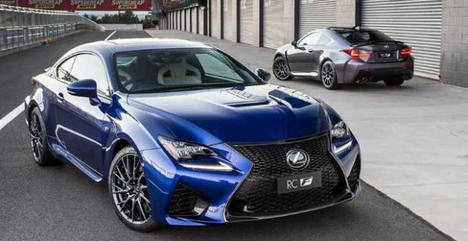 New 2021 Lexus RC Exterior