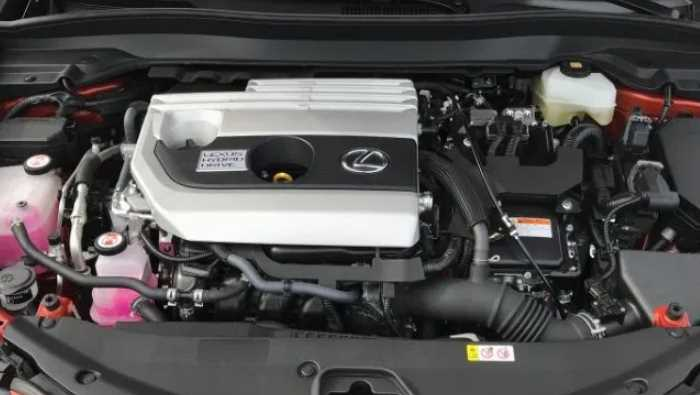 New 2021 Lexus UX 250h Engine