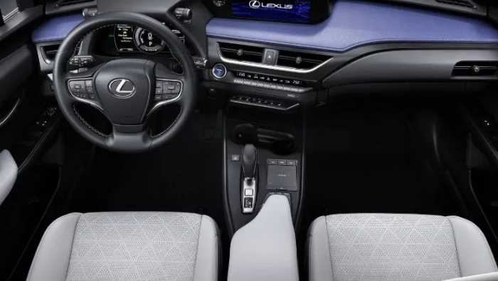 New 2021 Lexus UX Interior