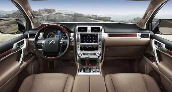 New 2021 Lexus GX Interior